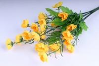 Искусственные растения - Лютики букет 33см желтый