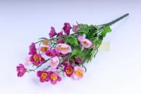Искусственные растения - Лютики букет 33см сирень