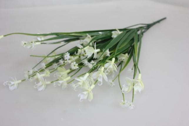 искусственные растения - львиный зев белый ga56
