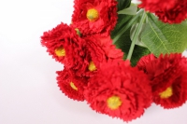 искусственные растения - маргариткаяркаябордобукет30см