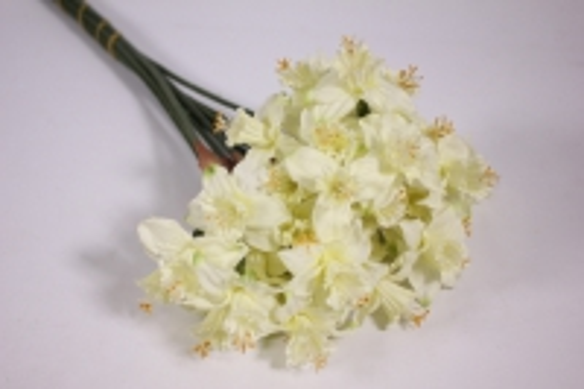 искусственные растения - нарцисс 45см шампань (12шт в уп) liu258