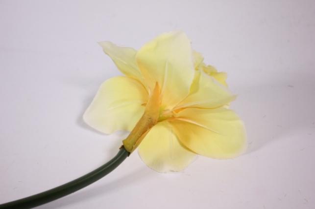 искусственные растения - нарцисс 55см желтый (sun410)