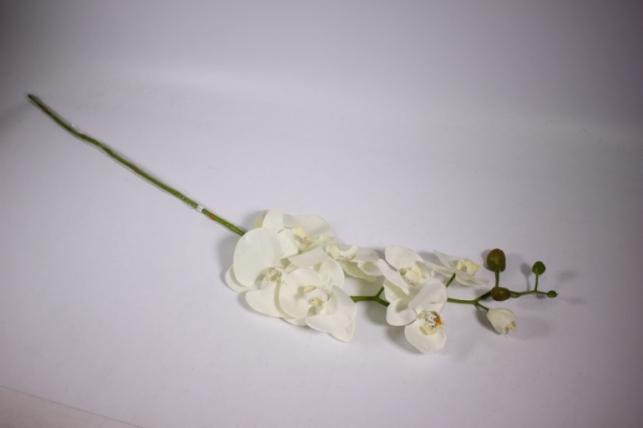 искусственные растения - орхидея 100см белая sun315