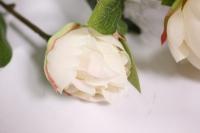 искусственные растения - пион 110см кремовый sun117