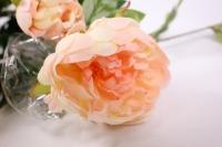 искусственные растения - пион 110см персиковый sun117