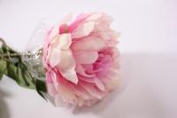 искусственные растения - пион 110см светло-розовый sun117