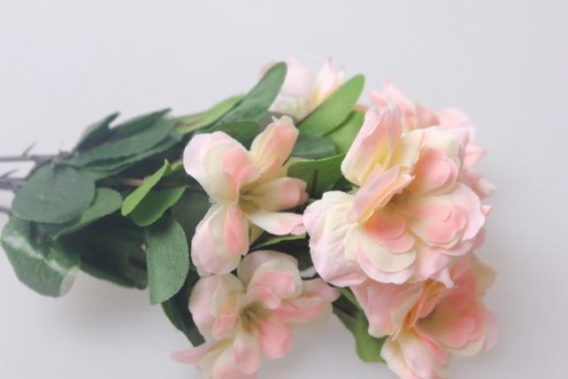 искусственные растения - розочки розовые  ga92