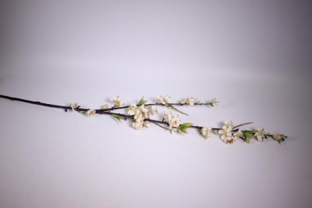 искусственные растения - сакуры ветка 100см кремовая sun100
