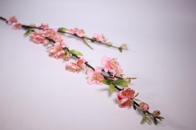 искусственные растения - сакуры ветка 100см розовая sun100