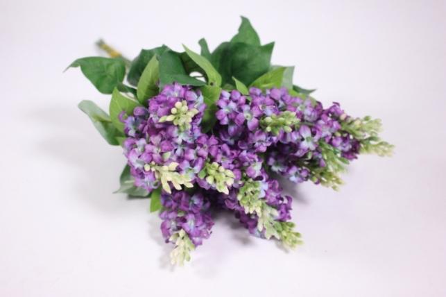 Искусственные растения - Сирень 45см (12шт в уп) фиолетовый LIU201
