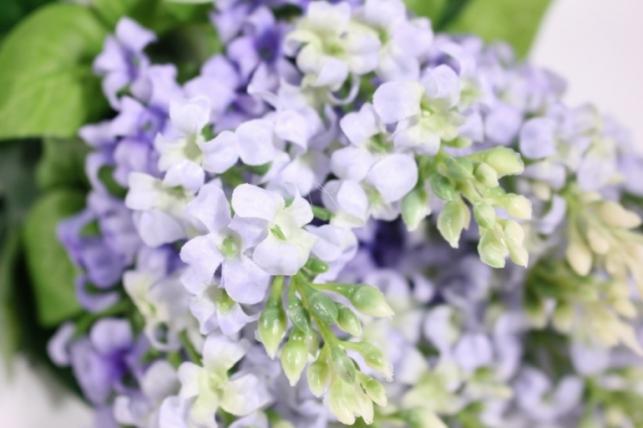 искусственные растения - сирень 45см (12шт в уп) голубая liu201