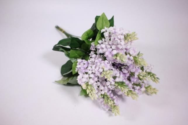 искусственные растения - сирень 45см (12шт в уп) светло-сиреневый