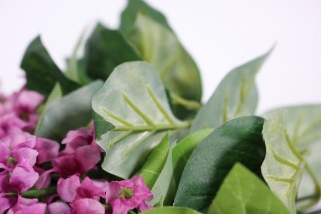 искусственные растения - сирень 45см (12шт в уп) вишневая liu201