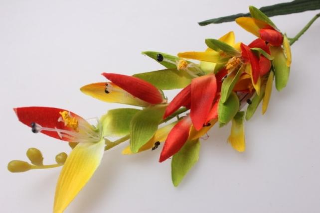 искусственные растения - стрелиция цветная  60см  kwl209