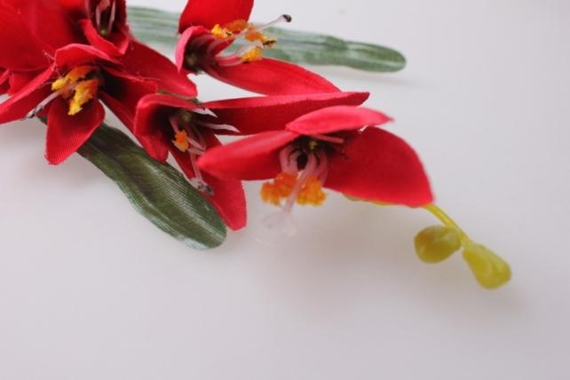искусственные растения - стрелиция красная  60см  kwl206