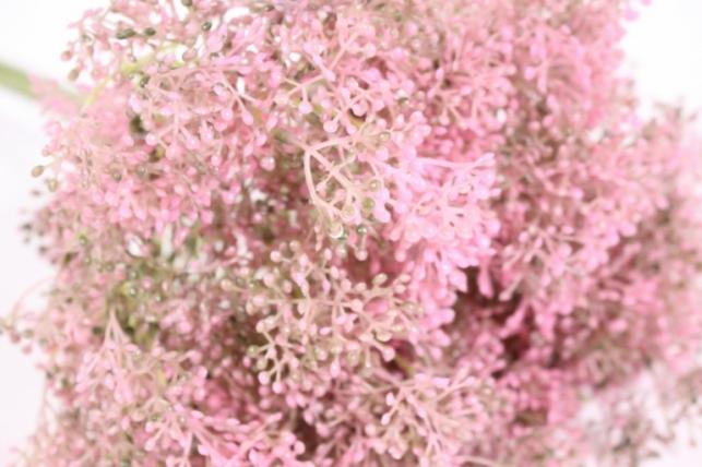 искусственные растения - таволга 40см розовая (5шт в уп) san360