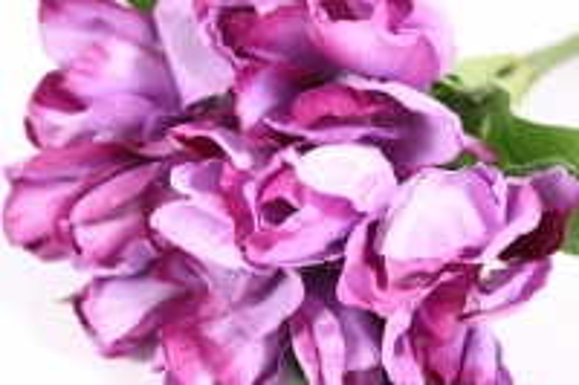 искусственные растения - тюльпан 35см сиреневый  zliu203