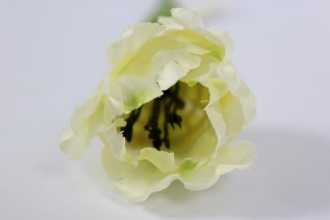 искусственные растения - тюльпан 45см белый