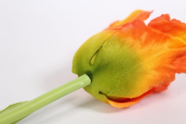 искусственные растения - тюльпан 45см оранжевый