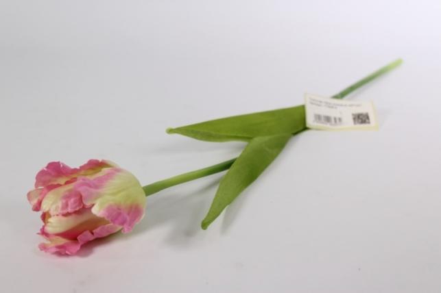 Искусственные растения - Тюльпан 45см розовый