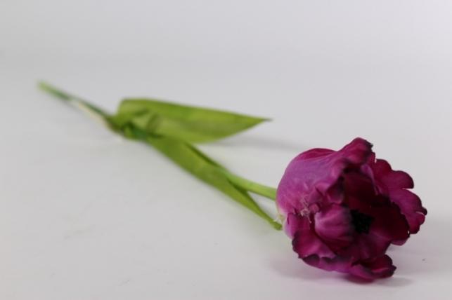 Искусственные растения - Тюльпан 45см сиреневый