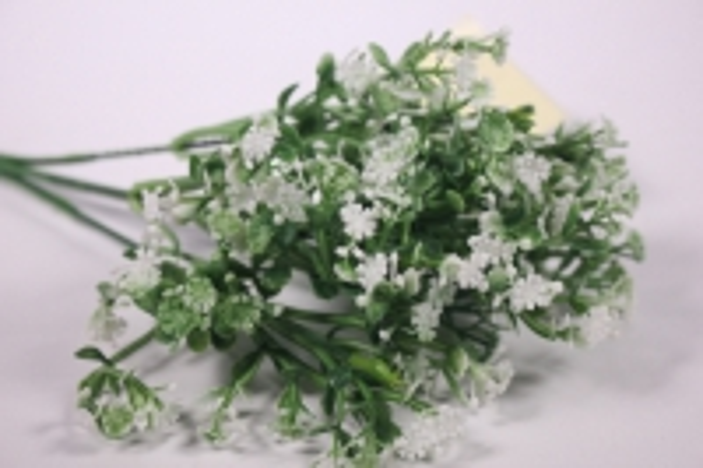 искусственные растения - ветка декоративная белая