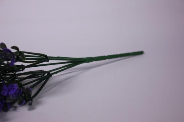 искусственные растения - ветка декоративная фиолетовая