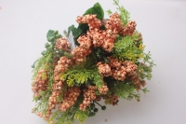 искусственные растения - ветка декоративная желтая 25см  kwl249