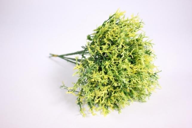 искусственные растения - ветка желтая  (6шт в уп) gaр16 (код 6415)