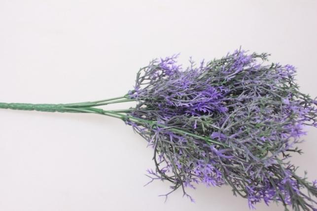 искусственные растения - ветка кермек  30см 3243