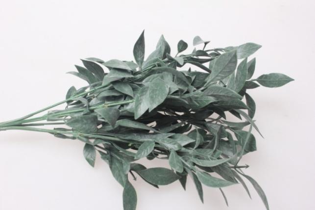 искусственные растения - ветка лавра 30см 1016