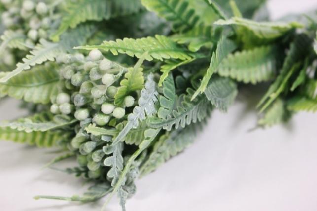 искусственные растения - веточка декоративная 40см (10шт в уп) ava35 (код 9651)