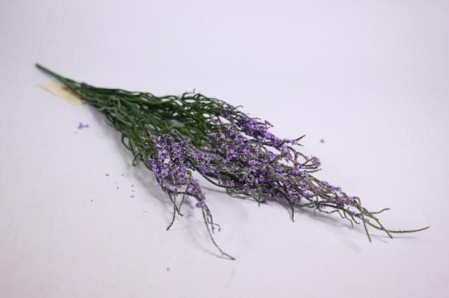 искусственные растения - веточка искусственная сиреневая 50см  gaв84 (код 4100)