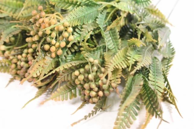 искусственные растения - веточка терракотовая 40см (10шт в уп) ava36 (код 9668)