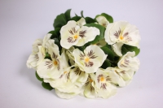 искусственные растения - виола 30см белая(12шт в уп) sun417