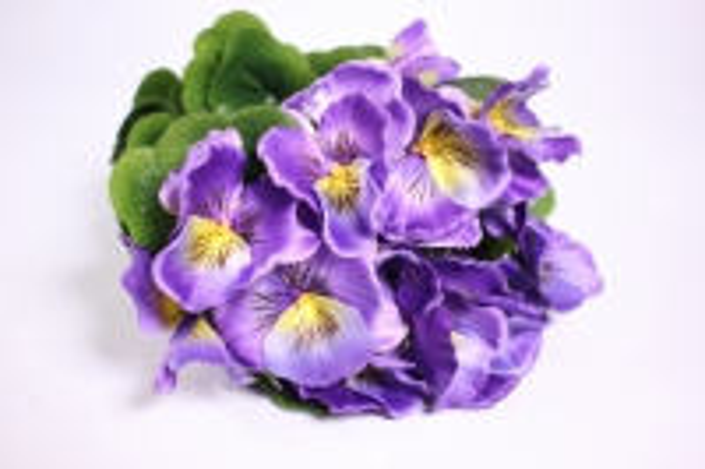 искусственные растения - виола 30см фиолетовая (12шт в уп) sun417