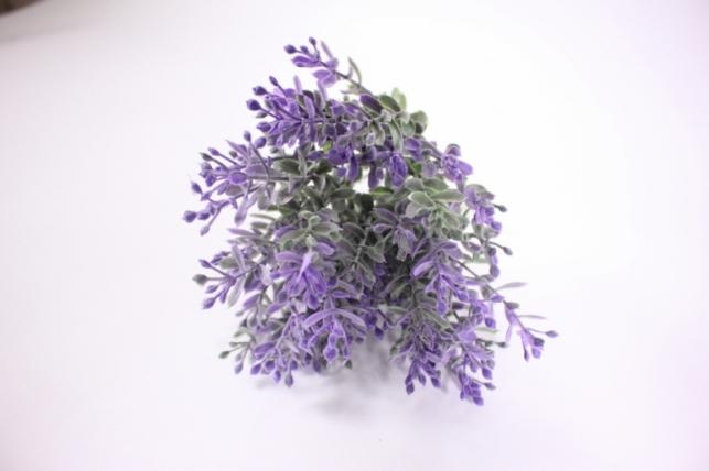 искусственые растения - ветка с сиреневым (5шт в уп) gay287 - код 3380