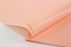Калька матовая  однотонная лист 60*60см. (20л/пач) Персиковый