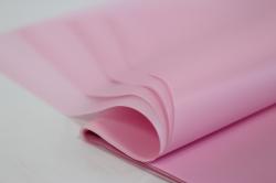 Калька матовая  однотонная лист 60*60см. (20л/пач) Светло-розовый