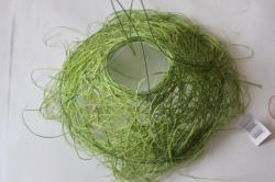 """Каркас для букета """"Ротанг одиночный 25см """" Зелёный"""