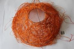 """каркас для букетов каркас """"ротанг одиночный """" оранжевый 7127"""