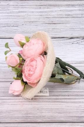 """Каркас для цветов  """"Сизаль одиночный """" 15см Белый"""