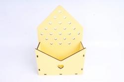 Кашпо (А) Конверт для цветов  (Цвет Желтый )Я055