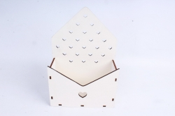 Кашпо (А) Конверт для цветов  (Цвет Белый )Я055
