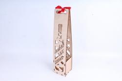 """Кашпо (А) Коробка для вина """"Выпьем за любовь"""" (Цвет Бесцветный ) 14Ф046"""