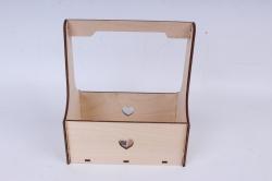 Кашпо (А) Ящик для цветов №3  (Цвет Бесцветный )Я003бесц