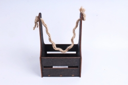 Кашпо (А) Ящик для цветов №10(Цвет Венге)Я010в