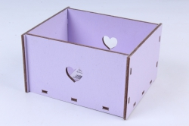 Кашпо (А)  Ящик для цветов №2 лиловый  Я002л