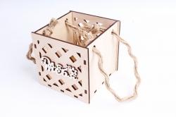 Кашпо (А) Ящик для цветов малый №17 (Цвет Бесцветный ) Я017бесц