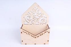 Кашпо (А) Ящик конверт для цветов №11 (Цвет Бесцветный )Я011бесц